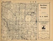 Allegan T2N-R13W, Allegan County 1954